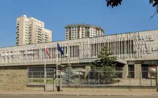 Где находится посольство Польши в Москве. Адрес и схема проезда на карте
