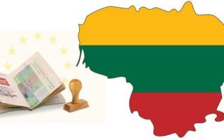 Едем в Литву. Инструкция помощник по оформлению визы самостоятельно.