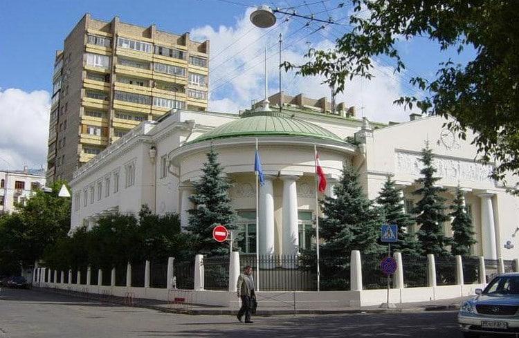 Где находится посольство Австрии